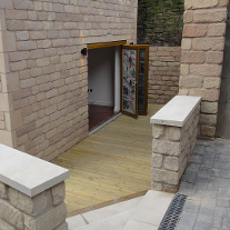 Patio - Attic Conversion in Dronfield, Derbyshire
